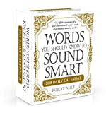 img - for Words You Should Know to Sound Smart 2018 Daily Calendar book / textbook / text book