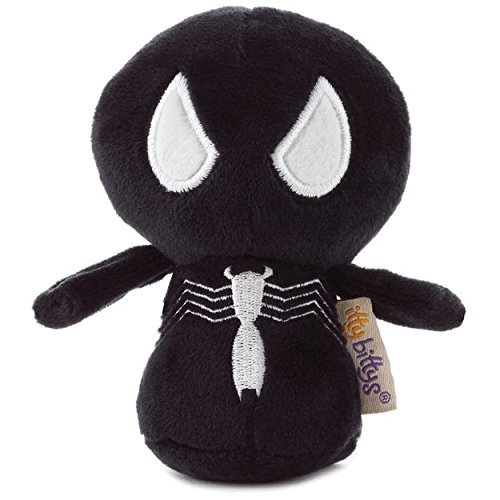 Hallmark itty bittys Symbiote Spider-Man Stuffed Animal, 2nd in Spider-Man Series