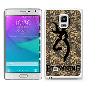Recommended Design Phone Case browning 2 White Best Popular Sale Samsung Galaxy Note Edge Case