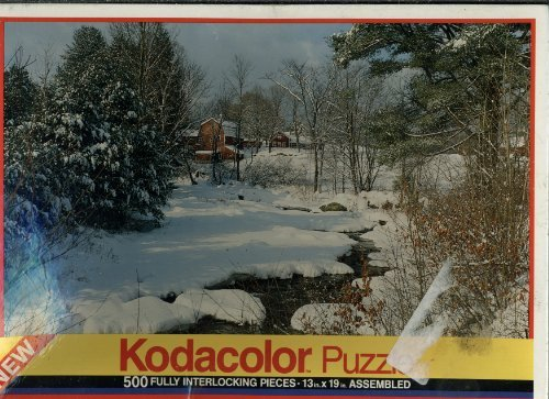 RoseArt Kodacolor 500 Piece Puzzle - Barn in Brownsville,...