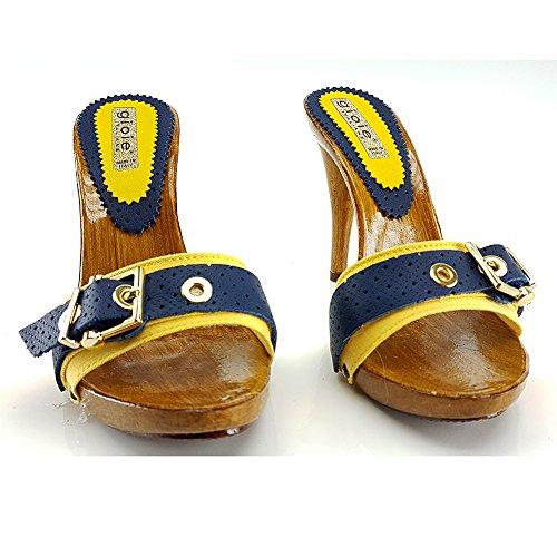 Giallo Mules pour Femme kiara shoes Tommy xPBwqEwH