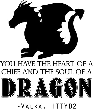 Valka Quote - Wall Decor | Train Dragon