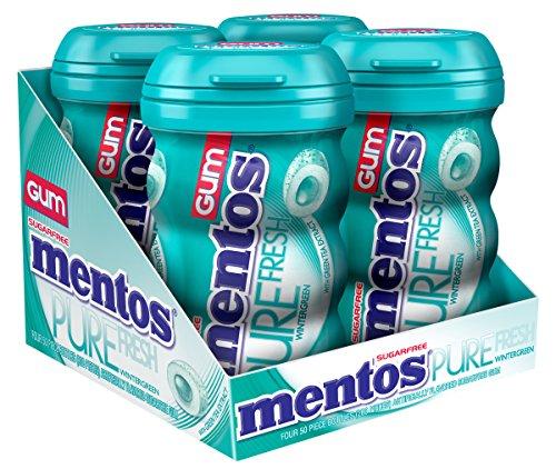 mentos-gum-sugar-free-pure-fresh-wintergreen-50-piece-pack-of-4