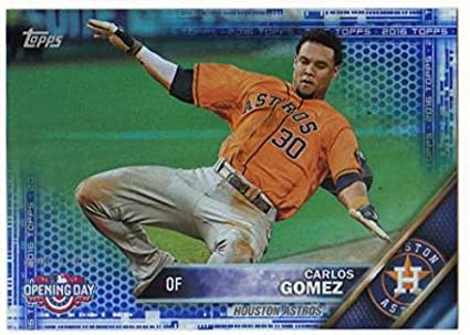 Amazoncom 2016 Topps Opening Day Blue Foil 115 Carlos