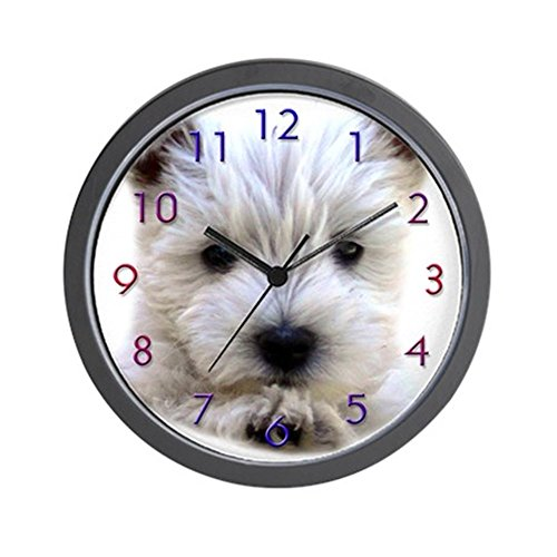 CafePress – Westie – Unique Decorative 10″ Wall Clock