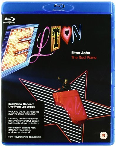 Elton John Red Piano - Elton John: Red Piano [Blu-ray]