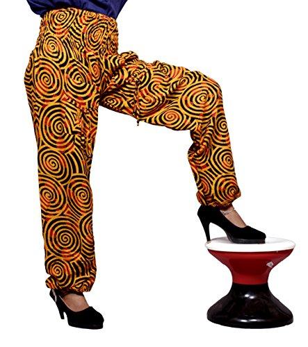 Amazingindiaonline - Pantalón - para mujer naranja