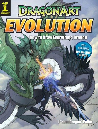 DragonArt Evolution: How to Draw Everything Dragon (Dragon Neon)