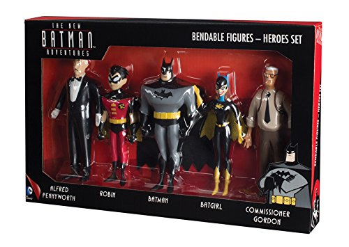 NJ Croce New Batman Adventures Bendable Figure Boxed Set