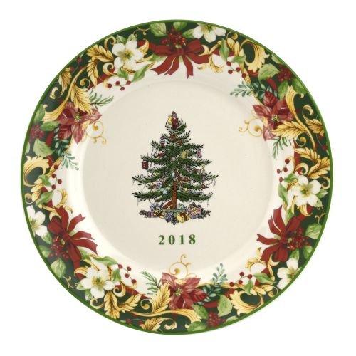 Spode Christmas Tree Plates