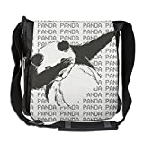Dab Panda Hip Hop Fashion Print Diagonal Single Shoulder Bag