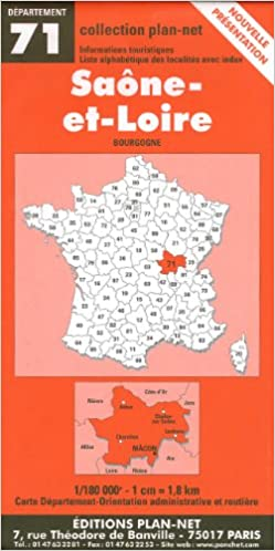 Livres Carte routière : Saône-et-Loire epub, pdf