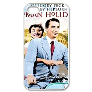 HOPPYS Audrey Hepburn Phone Case For Iphone 4/4s [Pattern-4]