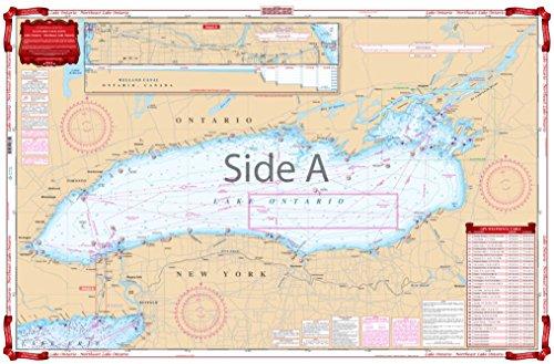 Waterproof Charts, Standard Navigation, 76 Lake Ontario - N.E Lake Ontario