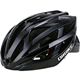 DRBIKE Bicycle Helmet – Men Lightweight Bike Helmet EPS Adult Cycling Helmet with Adjustable Straps & Dial for Road Bike, Black For Sale