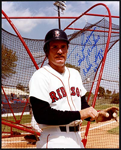 Wade Boggs Autographed 8x10 Photo Boston Red Sox