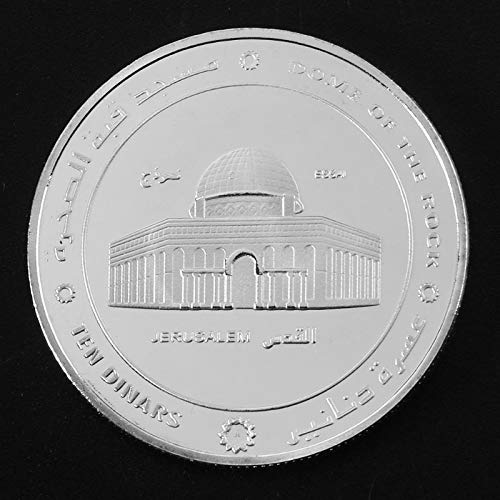 (Non-currency Coins - Holy Land Jerusalem Commemorative Coin Gold Plated Souvenir Art Collection Uhjsd - Wall Art Magnet Jerusalem Islam Jerusalem Centerpiece Muslim Crucifix Israel Israel Inc)