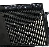20 pcs Mini Micro HSS High Speed Steel Twist Drill Set Model 0.3mm-1.6mm HOT SALE ! ❤️ ZYEE (Black)