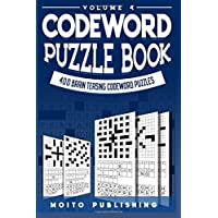 Codeword Puzzle Book: 400 Brain Teasing Codeword Puzzles Volume 4