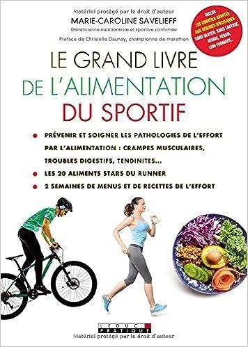 Le Grand Livre De L Alimentation Du Sportif 9791028510107