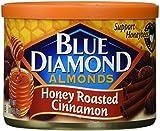 roasted almonds blue diamond - Blue Diamond Almonds, Honey Roasted Cinnamon, 6 Ounce