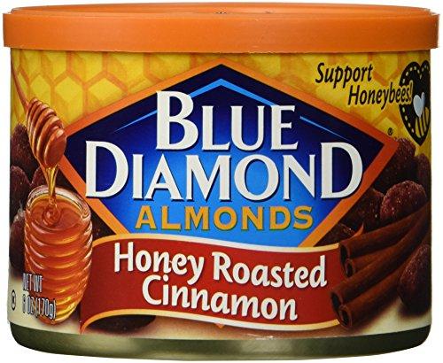 - Blue Diamond Almonds, Honey Roasted Cinnamon, 6 Ounce