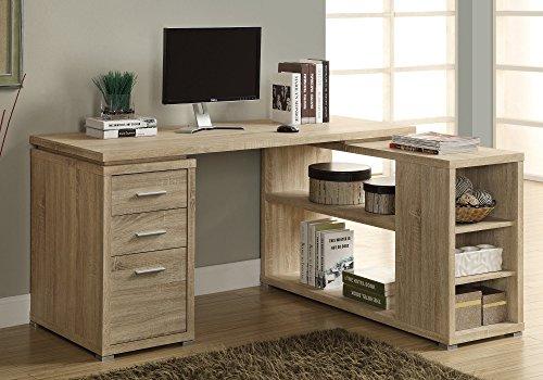 Monarch Specialties Hollow-Core Left or Right Facing Corner Desk, ()