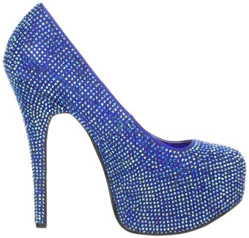 Blue Pleaser Escarpins Satin Eu Tee06R femme Iri irid Rs CPZ7q