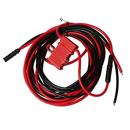 Xunbin 3M HKN4137A DC Power Cable Cord Wire for Motorola PM400 CM200 CM300 CDM750 CDM1250 HKN4137 two way Mobile Radios (Motorola Cm200 Radio)