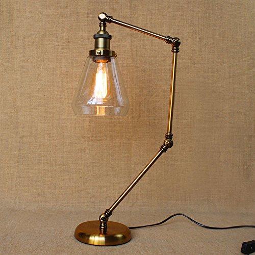 Moderne und Minimalistische amerikanische LED Augenschutz lernen kreative Bügeleisen schlafzimmer bett Lampen
