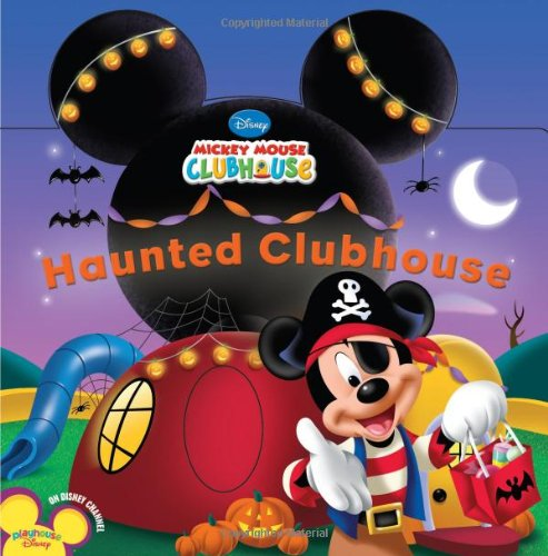 [Haunted Clubhouse (Disney Mickey Mouse Clubhouse)] (Good Story Book Character Costumes)