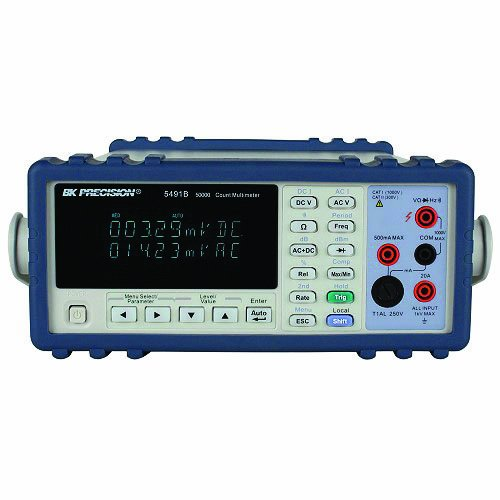 B&K Precision 2831E True RMS Bench Digital Multimeter with a NIST-Traceable Calibration Certificate with Data