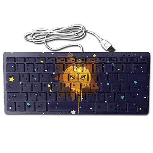 Happy Halloween Funny Pumpkin Keyboard,Gaming Keyboard,Slim Mini Keyboard,USB Keyboard,Wired Keyboard,mouse,78 Key,