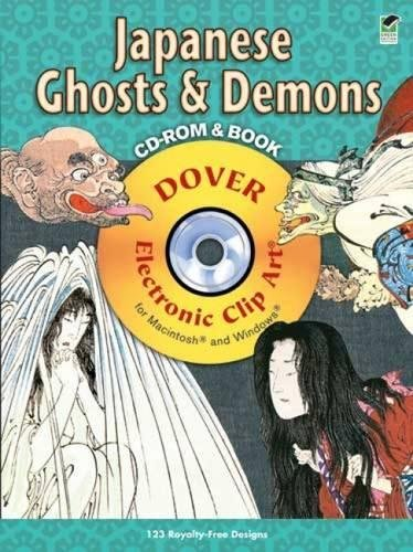 Japanese Ghosts and Demons CD-ROM and Book (Dover Electronic Clip Art)