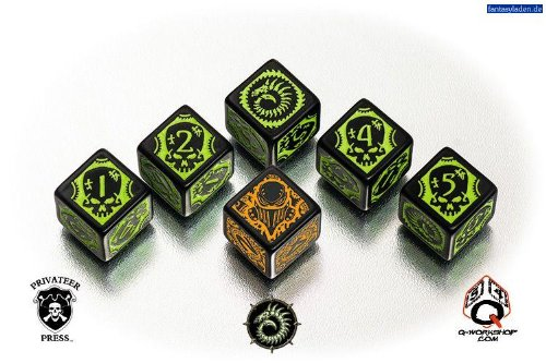 WARMACHINE Faction Dice - Cryx - Faction Dice