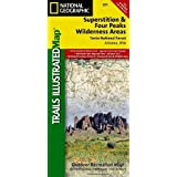 Superstition and Four Peaks Wilderness Areas [Tonto National Forest] (National Geographic Trails Illustrated Map)