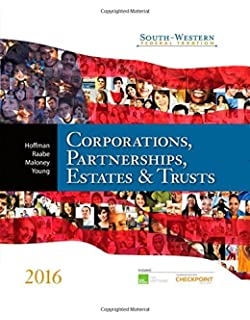 South western federal taxation 2014 corporations partnerships south western federal taxation 2016 corporations partnerships estates trusts corporations fandeluxe Choice Image