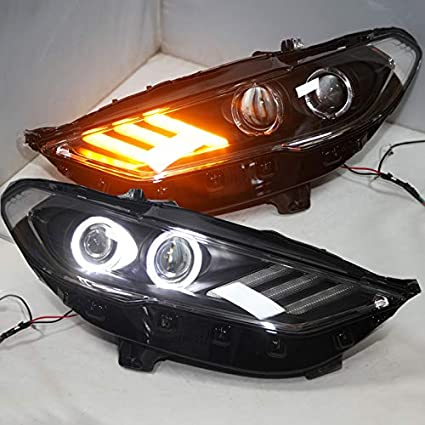 Amazon com: Generic for Mondeo LED Head Lamps For FORD