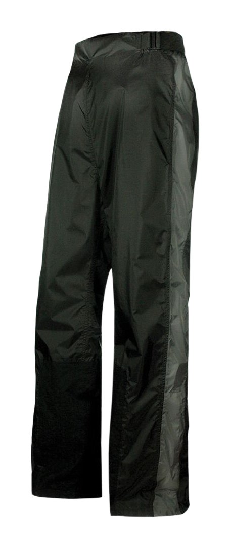Olympia Moto Sports MP215 Horizon Rain Pant (Black/Pewter, Medium/Large)