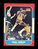 Magic Johnson 1986-87 Fleer Basketball #53 Lakers NMT/MT 34967