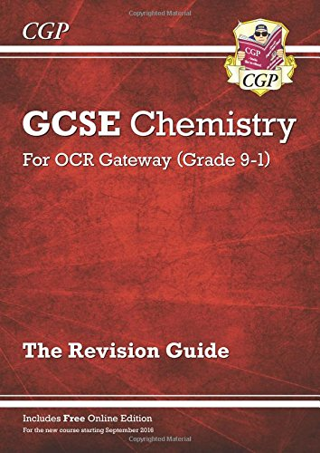 Download New Grade 9-1 GCSE Chemistry: OCR Gateway Revision Guide with Online Edition PDF