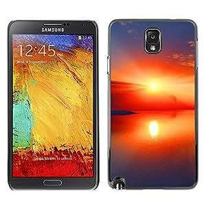 Paccase / SLIM PC / Aliminium Casa Carcasa Funda Case Cover - Sunset Beautiful Nature 97 - Samsung Note 3 N9000 N9002 N9005