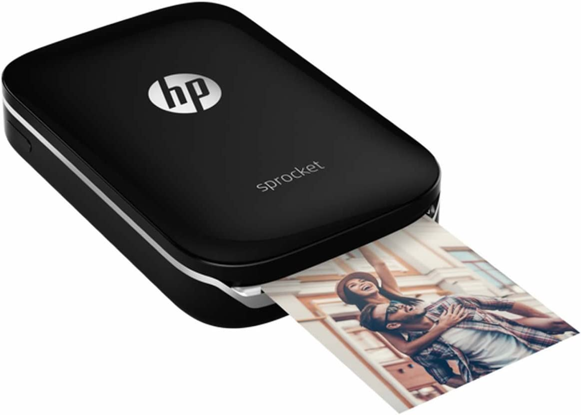 HP Z3Z92A#631 Sprocket Photo Printer, Color Negro: Amazon.es ...