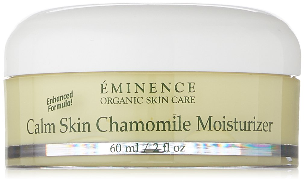 Eminence Organic Skincare Calm Skin Moisturizer for Sensitive Skin, Chamomile, 2 Fluid Ounce