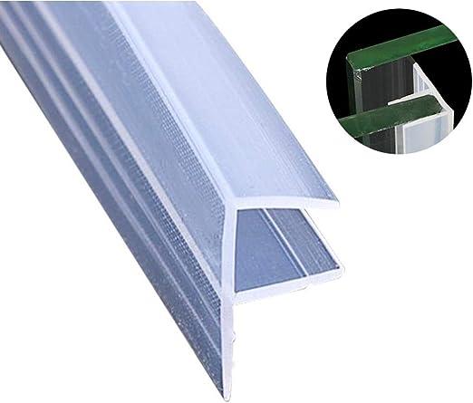 FONEE - Junta de vidrio para puerta de ducha sin marco para puerta de ducha o puerta, 3 m de longitud para evitar fugas de ducha: Amazon.es: Hogar