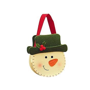 Tinksky Navidad 3D bolsas decorativas Premium Felt Candy ...