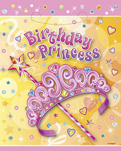 Pretty Princess Goodie Bags 8ct