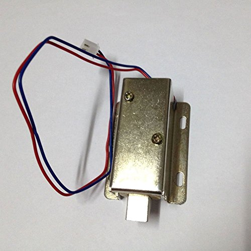 Fcbb high quality 6 holes dc 12v cabinet door electric for 12v door latch