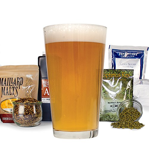 Zoomin' Pale Ale 20 Minute Boil - HomeBrewing Beer Making Recipe Kit - Malt Extract Ingredients For Making 5 Gallons Of Homemade Beer