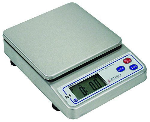 Detecto NSF Approved Portion Control Scale in Stainless Stee